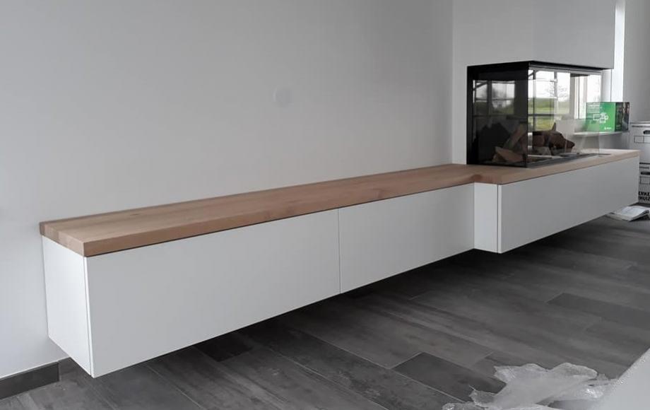 Open Haard Maken : Tv haard meubel vegters houtwerk gespecialiseerd in het maken